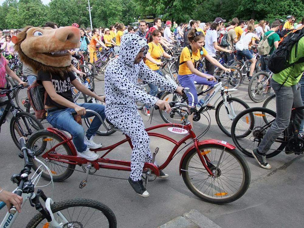 20 мая пройдет «Московский велопарад»